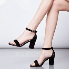 Women's PU Stiletto Heel Sandals Pumps Peep Toe With Buckle shoes - Sandals - veryvoga Peep Toe, Mother Of Bride Outfits, Chiffon Evening Dresses, Buy Shoes Online, Chunky Heels, Wedge Sandals, Stiletto Heels, Fashion Shoes, Shoe Boots