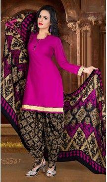 Deep Pink Color Crepe Silk Straight Cut Casual Wear Punjabi Patiyala Suit   FH535880776 >>> Follow Us @heenastyle <<< ----------------------------------------------- #punjabisuit #instalike #patialashahi #patialasuit #salwar #followme #sardarni #instaselfie #dupatta #instafollow #instamood #punjabisuit#indiandesignersuits#suits#salwarkameez#lehanga#kurtis#punjabifashion#bollywoodcelebritydresses #punjabikudi #punjaban #punjabi #punjab #punjabiquote #heenastyle #shopping #heenastyle