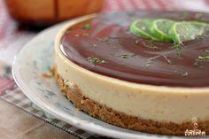 Torta Mousse de Limão com Chocolate - Receita Completa - Amélia com Vaidade 2