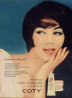 Coty (Cosmetics) 1959 Vintage advert