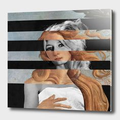 Discover «Botticelli's Venus & Brigitte Bardot», Exclusive Edition Acrylic Glass Print by Luigi Tarini - From $69 - Curioos