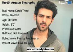 Kartik Aryaan Biography (Age, Girlfriend, Family, Caste,& More) Pyaar Ka Punchnama, Several Movies, Entertainer Of The Year, Beard Look, Vogue Beauty, Ensemble Cast, Recent Movies, Marital Status, Amitabh Bachchan