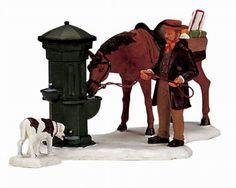 Lemax Christmas Village Collection Horse Trough 2-Piece S…