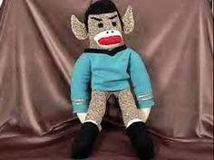 sock monkey - Spock