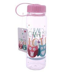 *Wasserflasche*500ml*Eulen*Trinkflasche*
