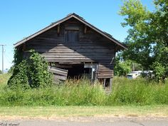 A building in the Ghost Town of Hamilton Oregon