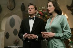 Allied (2016) Brad Pitt Marion Cotillard Movie Image (40)