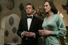 Allied (2016) Brad Pitt Marion Cotillard Movie Image (40)