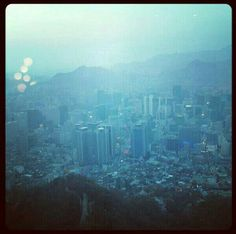 View from the N Tower #Seoul