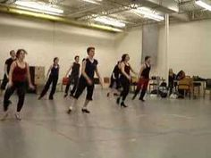 Beginning Tap Routines with Lyn Cramer - YouTube