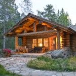 Cute & Cosy Cabin: Beautifully warm home has traditional and rustic styling