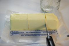 Teresa Tronier Photography: Butter in Your Food Storage. Lasts 3 years. Emergency Preparedness Food, Survival Food, Survival List, Survival Hacks, Survival Prepping, Canned Butter, Homemade Butter, Home Canning Recipes, Cooking Recipes