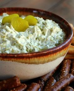 Dill Pickle Dip | Recipes