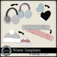 Winter Templates CU4CU cudigitals.com cu commercial scrap scrapbook digitalgraphics#digitalscrapbooking #photoshop #digiscrap #scrapbooking