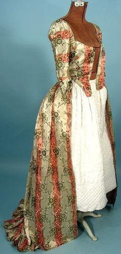 FASHION WOMAN YELLOW DRESS LA INNOVACION SILK WOOL VINTAGE POSTER REPRO
