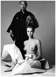 Veruschka by Richard Avedon for Vogue1966