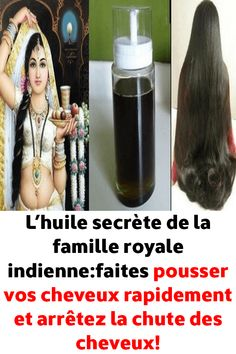 The secret oil of the Indian royal family: grow your hair fast . Natural Beauty Tips, Natural Hair Styles, How To Grow Your Hair Faster, Dying My Hair, Beauty Games, Diy Shampoo, Stop Hair Loss, Celebrity Makeup, Dandruff