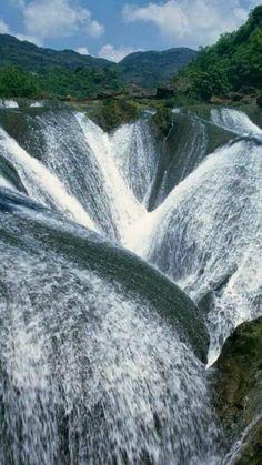 Jiuzhaigou, China nature love - Waterfalls Love