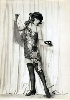 Flapper- woman who embodied the essence of freedom. They wore short dresses and strappy shoes to make it easier for them to dance.