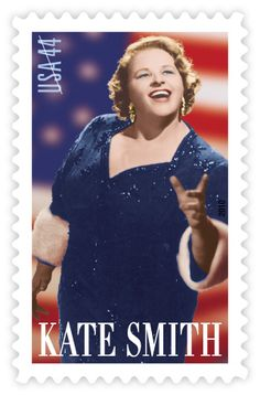 Kate Smith | Stamp Issue | USA Philatelic