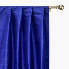 Curtain Panels, Panel Curtains, Window Sizes, Custom Curtains, Extra Fabric, Box Pleats, Yarn Colors, Blue Fabric, Pure Silk