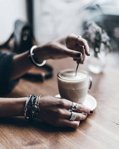 Coffee time Ok, this was a little earlier today but I know you guys love coffee so here you go ☕ #coffeetime #lattemacchiato #jewellery @klemenswhite / TechNews24h.com