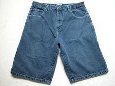 Wrangler Men/'s Big 40 or 48 Regular Relaxed Dark Blue Denim Carpenter Short NWT