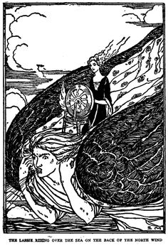 Art by Elizabeth MacKinstry (1910) from THE FAIRY RING.