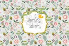Cute pattern. by marushabelle on Creative Market
