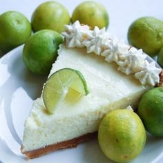 """pinner says """"This is possibly the best key lime pie recipe known to humankind."""""""