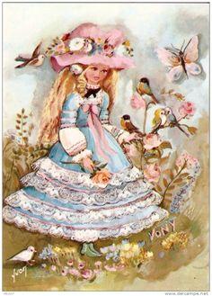 Beautiful vintage postcard