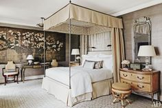 www.thisisglamorous.com | Décor Inspiration : Toile & de Gournay | Flickr - Photo Sharing!
