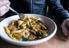 An ex-A Tavola chef serves handmade pasta, batch beer on tap and natural wines out of his Darlington home. Sydney Food, Mediterranean Recipes, Pasta Salad, Wines, Risotto, Food And Drink, Eat, Ethnic Recipes, Natural