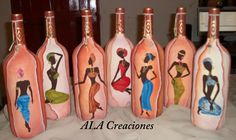 BOTELLAS CON RELIEVE.