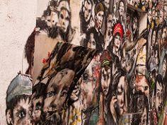 (Arrtez la Musique) Tags: madrid people espaa streetart graffiti spain pueblo police urbanart demonstration gag casablanca squatter lavapis manifestacin santaisabel mordaza okupa arteurbano polica leymordaza gaglaw