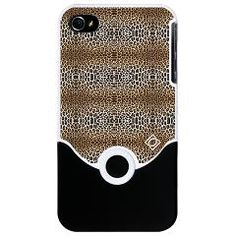 Faux Fur Leopard Print iPhone 4 Slider Case $28.  http://www.cafepress.com/debracortese.637997197