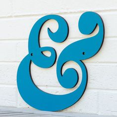Ampersand and by spunkyfluff on Etsy