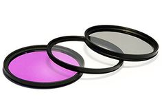 Introducing UV Ultra Violet  CPL Circular Polarizer  FLD Fluorescent Filter Kit for Canon EFS 1855mm f3556 IS II Lens. Great Product and follow us to get more updates!