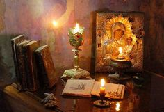 Still life with violin Orthodox Prayers, Orthodox Christianity, Catholic Art, Religious Art, Prayer Corner, Christian World, The Rite, Mother Mary, Holy Spirit