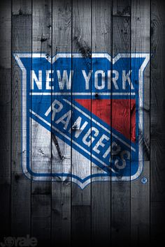 New York Rangers Wood Fence Canvas Print Art By Joe