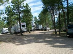 Hot Springs KOA Facilities - we have full hook-up sites and water/electric sites.  Most of them are pull-through sites with just a few back-in water/electric sites.