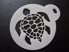 Corte láser 60mm Copo De Nieve Nuevo Diseño Pastel Craft /& Plantilla de Pintura de cara Cookie