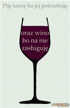wino i kawa