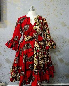 African Dresses For Kids, African Wear Dresses, Latest African Fashion Dresses, African Print Fashion, Ankara Fashion, African Fashion Traditional, African Print Dress Designs, Kitenge, Style