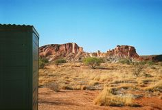 Is this the most SCENIC #Australian Public Toilet??  Just another reason to visit #RainbowValley, #NorthernTerritory!