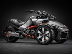 RL         2015 Can-Am Spyder F3-S in Cam-Am Red Solid Gloss/Steel Black Metallic