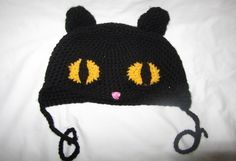Crazy Cat Hat - scroll down for free pattern