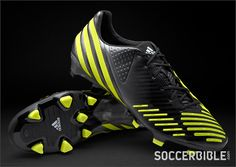 adidas Predator LZ UCL Football Boots - Blk/Lime/Metallic - http://www.soccerbible.com/news/football-boots/archive/2012/09/12/adidas-predator-lz-ucl-football-boots-blk-lime-metallic.aspx