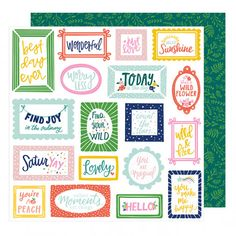 American Crafts - Dear Lizzy Star Gazer - Find Joy Paper