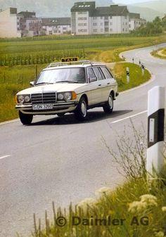 Mercedes-Benz T-Modell der Baureihe 123, Taxi.